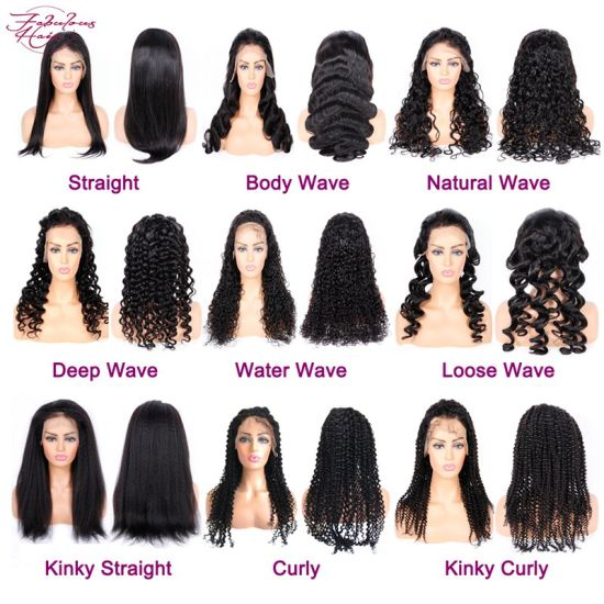 12A Factory Best Wholesale Hair Brazilian Cutile Aligned Hair Wig Lace Front Human Hair Wigs pictures & photos