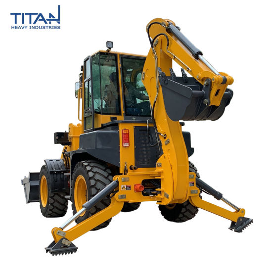 Titan High Quality Cheap Price Tl30-25 Mini Tractor with Front End Backhoe Loaders
