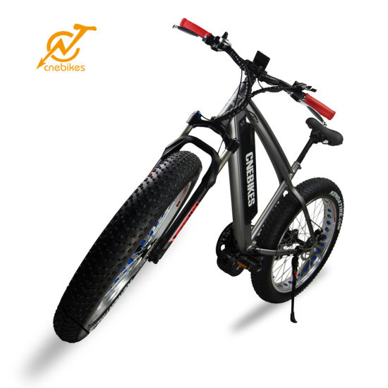 Cheap High Quality Snow Bicycle 750W Brushless Motor Fat Tire 26′ E Cycle Electric Bike for Tall Men pictures & photos