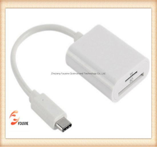 USB-C 2.0 Card Reader SD/TF Card Reader