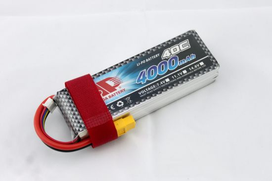 4000mAh 11.1V 40c Fpv Drone Ce Lithium Polymer Battery pictures & photos