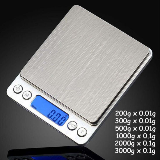 500 Gram X 0.01g Stainless Steel Jewelry Weighing Scale