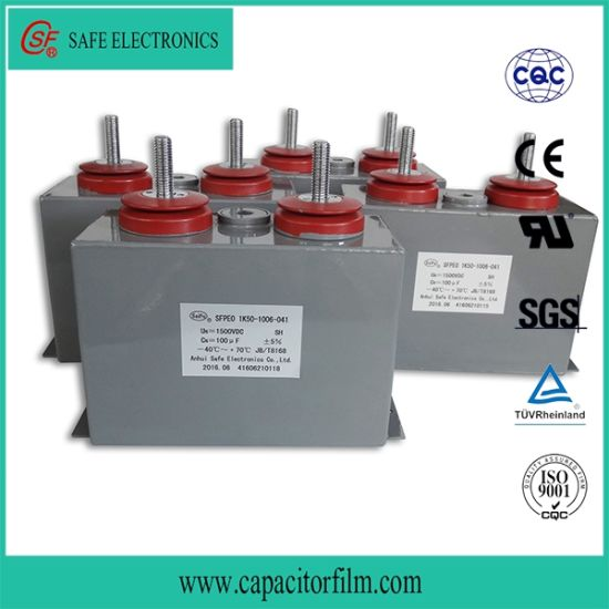 Oil Type DC-Link Filter Capacitor for Power Industry Inverter