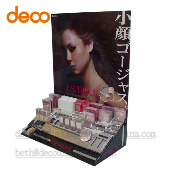 Cardboard Paper Display Counter Display Case for Cosmetic pictures & photos