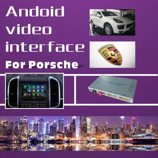 Car Video Interface for Porsche PCM 4.0 Macan Cayenne Panamera etc, Android Navigation Rear and 360 Panorama Optional pictures & photos