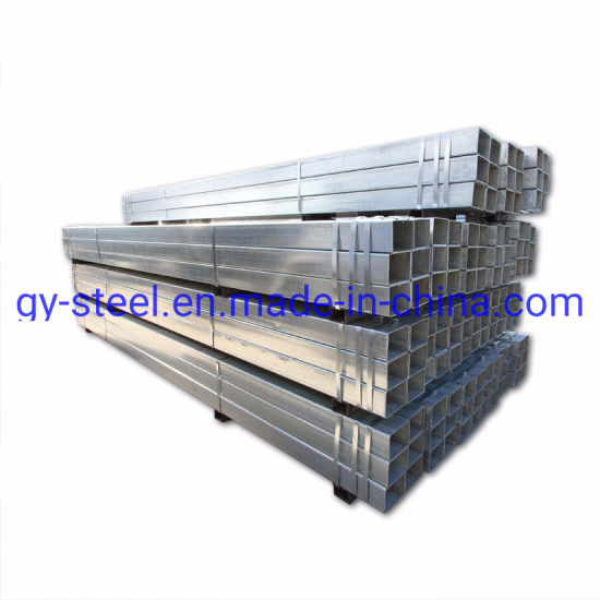 High Quality Q195 Q235 Carbon Round Welded Galvanized Steel Pipe Tube