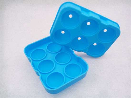 Creative FDA Silicone Ice Cube Tray Mold Tooling pictures & photos