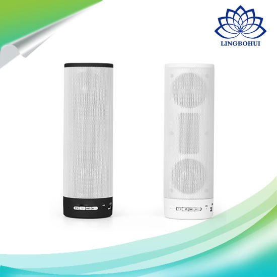 TF USB Disk Amplifier Cylindrical Bluetooth Wireless Portable Speaker pictures & photos