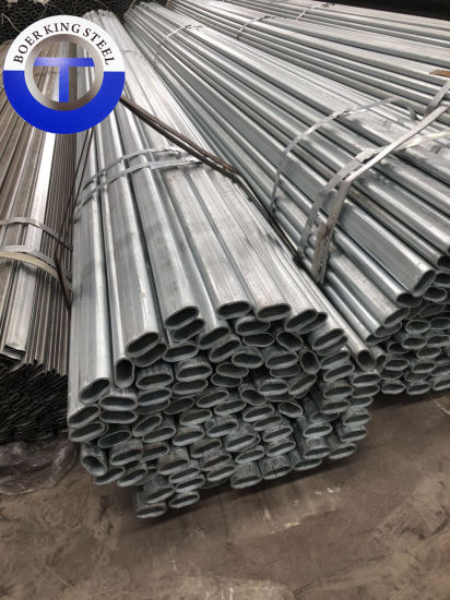 Galvanized Steel Pipe Square/Rectangular/Round/Oval Tube