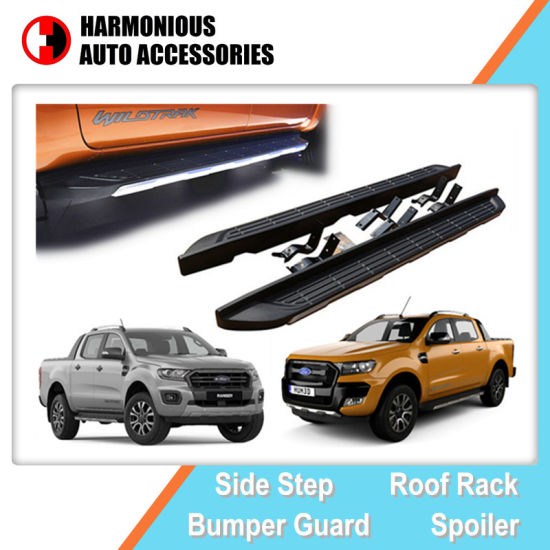 OE Style Side Step Running Boards for Ford Ranger 2012 2016 2019 T6, T7, T8