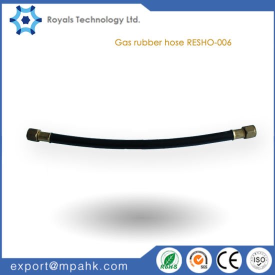 Screw Mounted Flexible Rubber Gas Hose Pipe pictures & photos