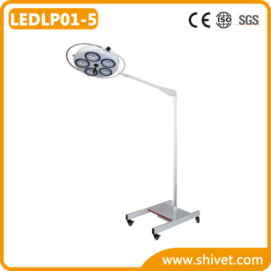 Veterinary Mobile Surgical Light with Ce (LEDLP01-5)
