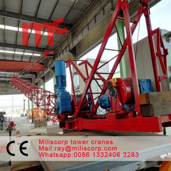6t-Ld3020 Roof Derrick Crane with Good Quality pictures & photos