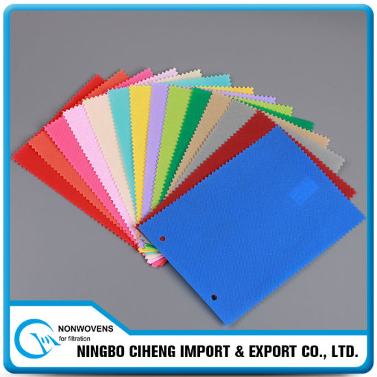 Specialized Face Mask Raw Material Spunbonded Upholstery SMS Nonwoven Fabric