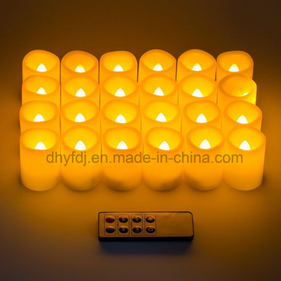 China Led Flameless Rechargeable Tea Light Candles Wholesale China Lighting Bulb