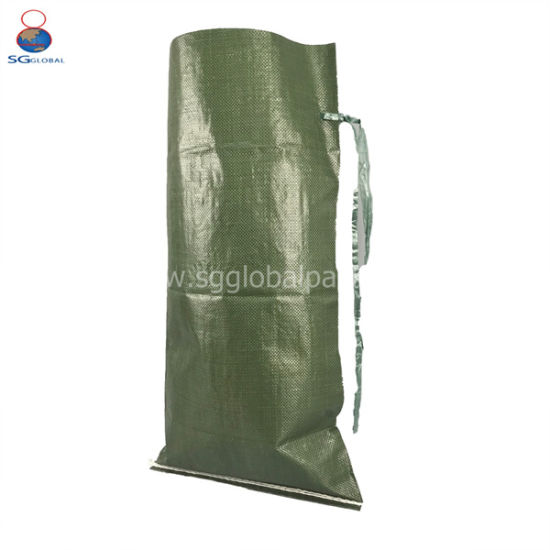 Woven Polypropylene Bags Wholesale 50kg Sand Bags Military