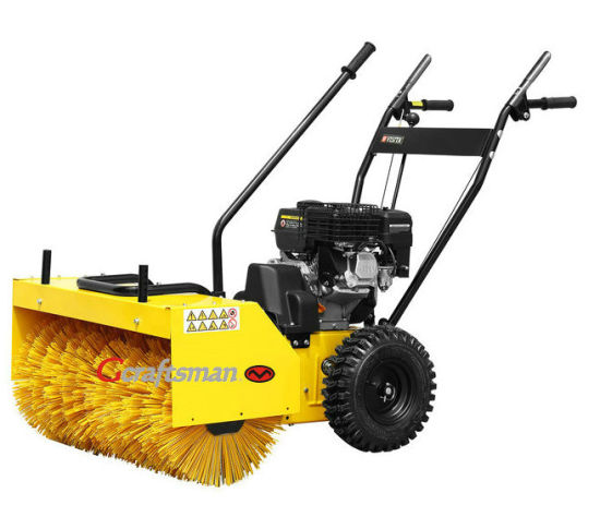 22-31.5 Inch Width 6.5HP Simple Lawn Sweeper, Artificial Turf Sweeper pictures & photos