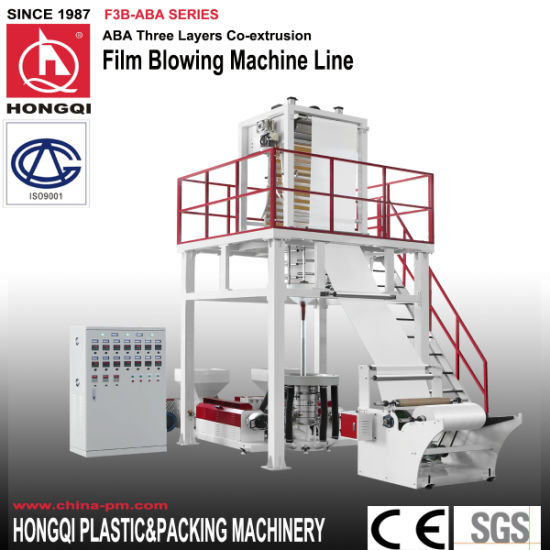 ABA Three Layers Coextruding Film Blowing Machine pictures & photos