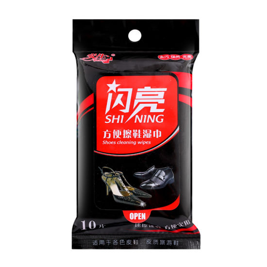 2017 Cleaning Shoe Shine Car Household Promotional Auto Wet Wipe pictures & photos