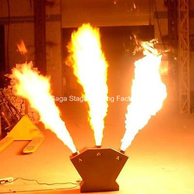 Triple Flame Projector DMX512 Flame Machine Stage Equipment Stage Lighting pictures & photos