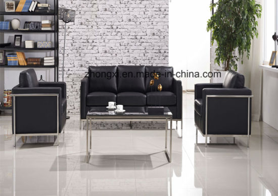 Black Combination New Design Lobby Reception Area Office Seating Sofa