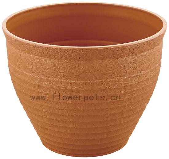 Round Plastic Flower Pot (KD9452-KD9454) pictures & photos