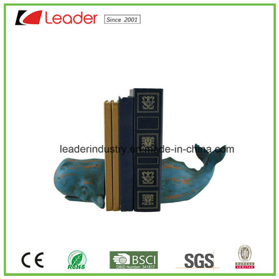 Polyresin Seahorse Sculpture Bookends for Home and Table Decoration pictures & photos