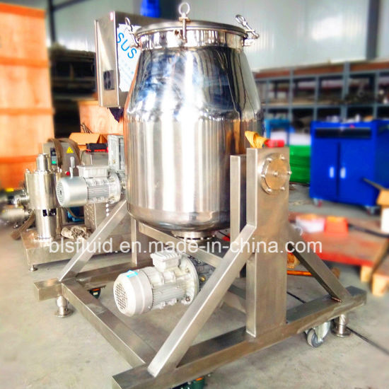 180 Degree Flip Stirring Automatic Drum Tea Power Mixing Machine pictures & photos
