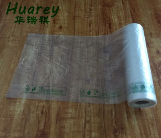 HDPE Transparent Plastic Bags Produce Roll for Food pictures & photos