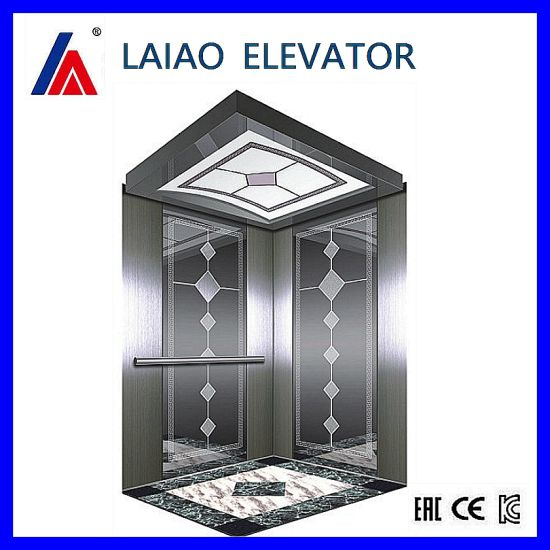Gearless Machine Mr Mrl Passenger Observation Home Elevator with Ard Device