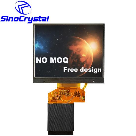 3.5 Inch TFT 320X240 Resolution 24bit RGB Car Monitor Touch LCD Display/Screen/Module