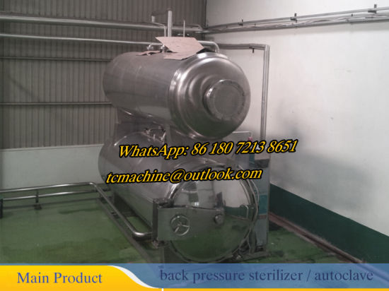 PLC Control Type Autoclave Sterilizer for Canned Food