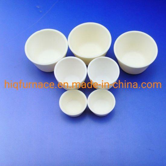 Large Diameter Al2O3 Alumina Ceramic Crucible, High Quality Ceramic Alumina Crucible Al2O3