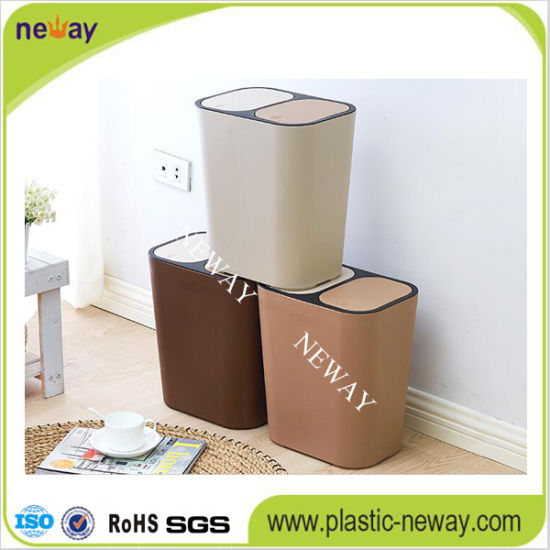 Hot Sale Kitchen PP Garbage Can pictures & photos