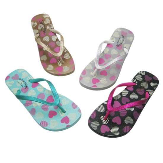 Hot Sale Beach Sandals Rubber Flip Flops for Women pictures & photos
