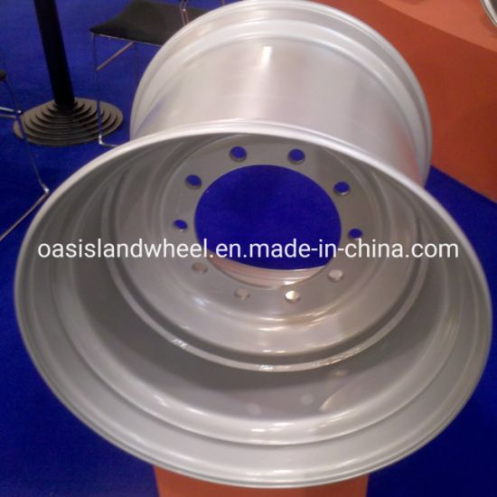 Fixed Centre Steel Wheels (16.00X17 16.00X22.5) for Farm Trailer