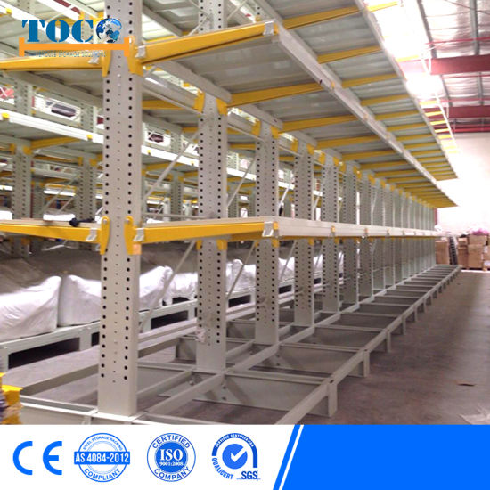 SGS Approved outdoor Galvanized Cantilever Rack Top Supplier with Roof
