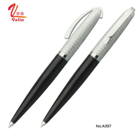Laser Engraving Ball Pen Promotion Office Stationery Promotional Metal Ballpoint Pen pictures & photos