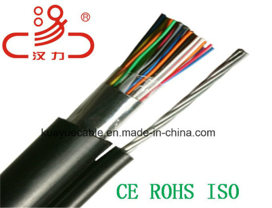 China Drop Wire 2 Pair Messenger Telephone Cable /Computer Cable ...