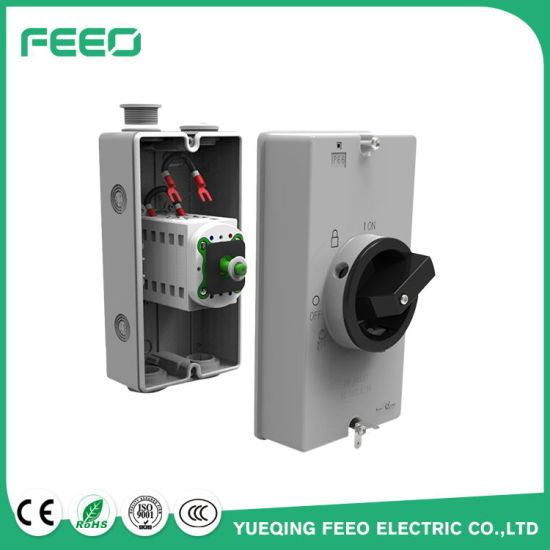 Electrical Power Disconnect Mc4 16A 3p 500VDC Solar Electrical Switch pictures & photos