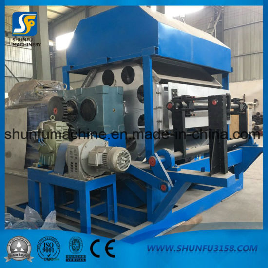 Automatic Rotating Egg Tray Making Machine Egg Carton Forming Machine pictures & photos