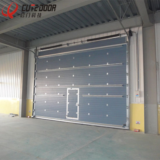 Cost-Effective Galvanized Steel Sectional Garage Door & China Cost-Effective Galvanized Steel Sectional Garage Door - China ...