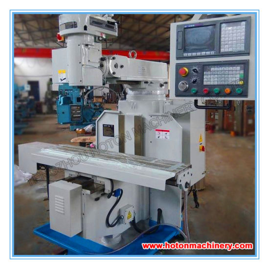 CNC Swivel Head Turret Milling Machine (XK6323A XK6325D) pictures & photos