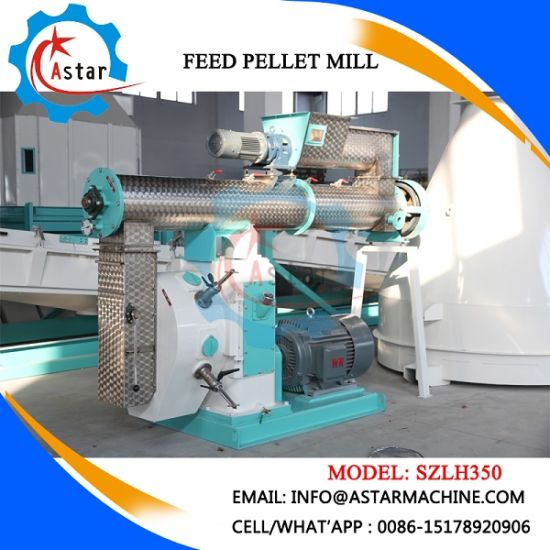 China Professional Manufacture Chicken Cattle Fish Poultry Animal Feed Pellet Mill pictures & photos