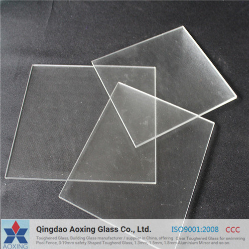 3.2mm Ultra Clear Tempered Sheet Glass for Solar Cell pictures & photos