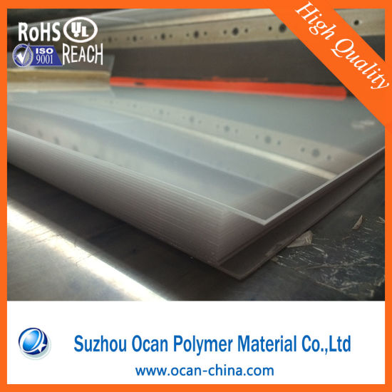 0.5mm Thick White PVC Rigid Film Plastic Sheet for Offset Printing pictures & photos
