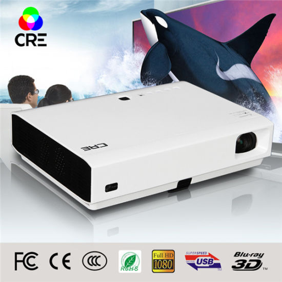 Best for Business Use Large Screen Size 250 Inches High Brightness 3800 Lumens 3D Laser & LED Projector pictures & photos