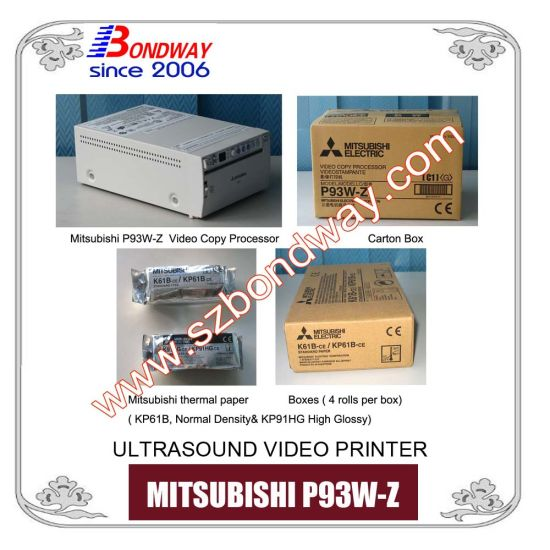 Mitsubishi P93 Thermal Video Printer for Ultrasound Scanner, A6, Ultrasound Printer, Sony Video Printer, Medical Video Copy Processor pictures & photos