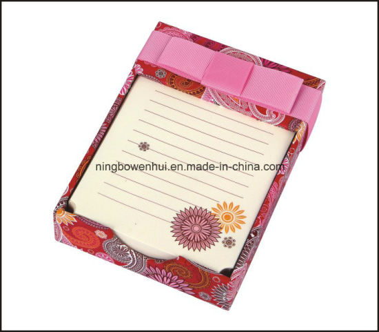 Hight quality Note Pad/Memo Pad with Handmade Paper Box pictures & photos