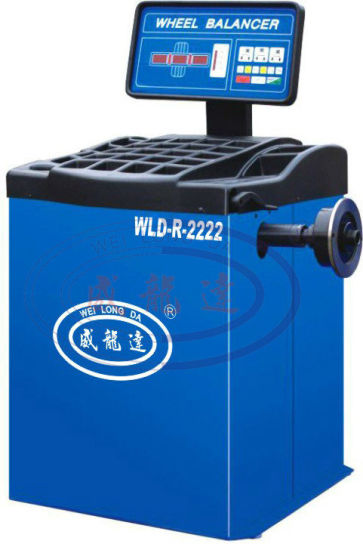 Wld-R-2222hot Sale Garage Equipment Computerized Car Wheel Balancer